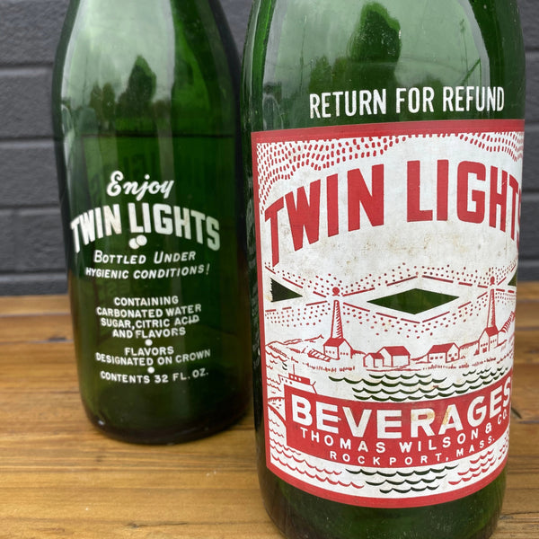 Twin Lights Sparkling Water Bottle