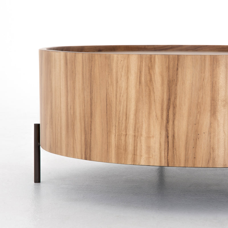 Lua Drum Coffee Table