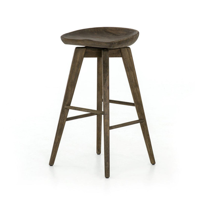 Bar Stool: Brushed Shale Grey (17.5w x 17.5d x 30.75h)