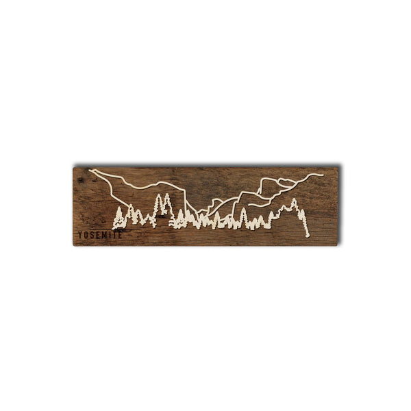 YOSEMITE NATIONAL PARK BARNWOOD