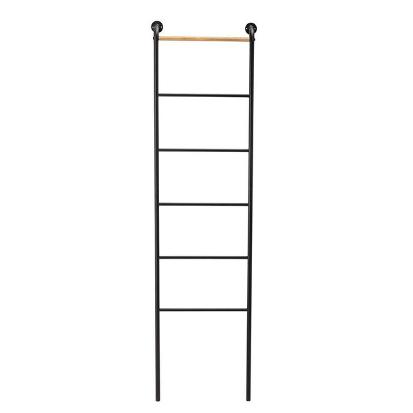Wood & Metal Wall Mount Ladder