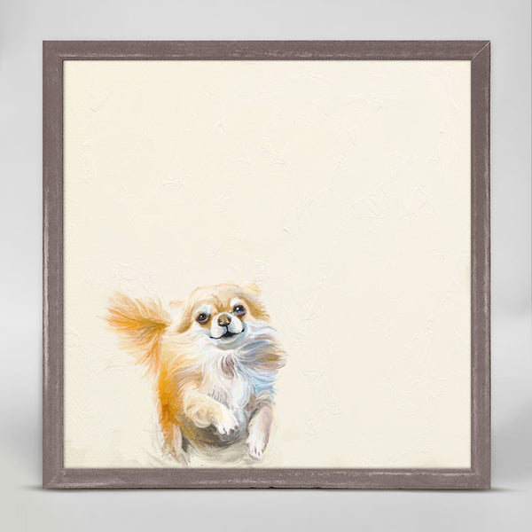 BEST FRIEND POMERANIAN CANVAS