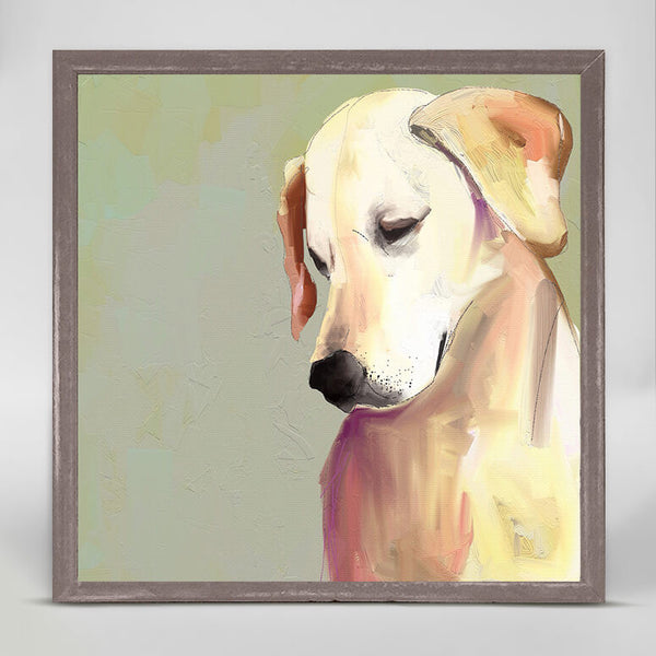 Yellow Lab Mini Canvas
