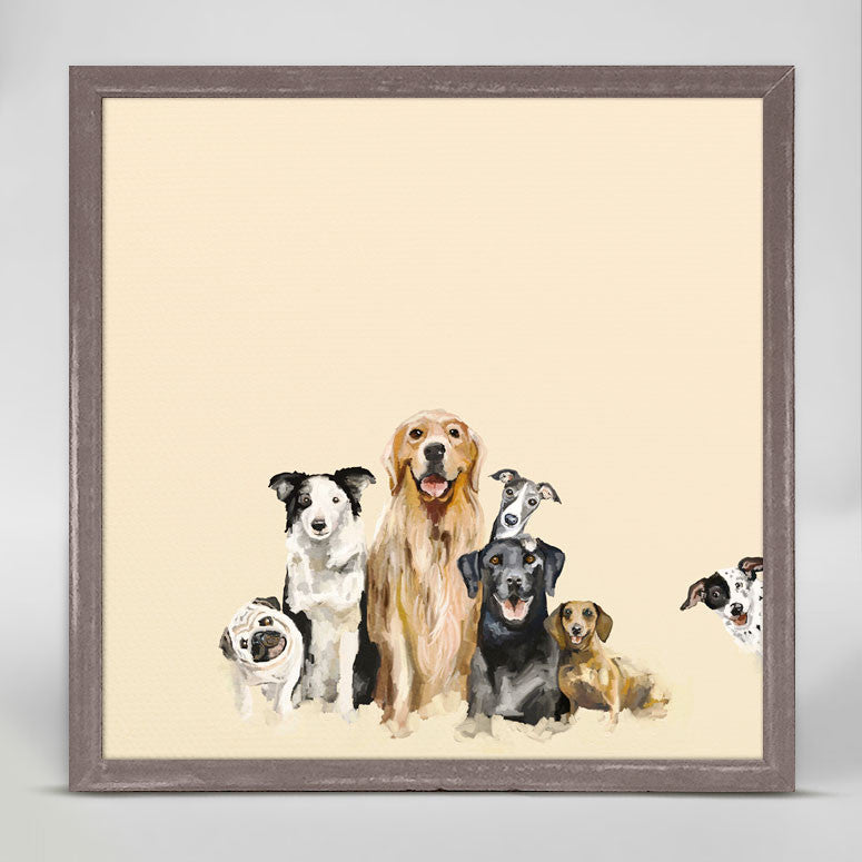 Puppy Pack Mini Canvas