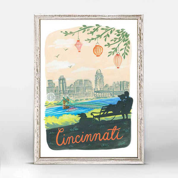 Cincinnati Mini Canvas