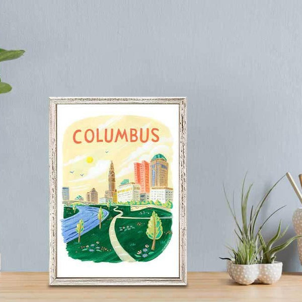 Columbus Mini Canvas