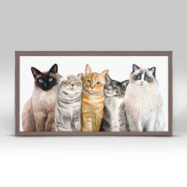 CAT BUNCH CANVAS