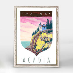NATIONAL PARK ACADIA CANVAS