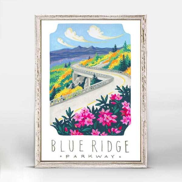 Blue Ridge Parkway Mini Canvas