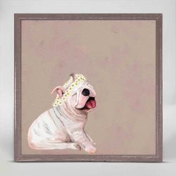 Daisy Pup Mini Canvas