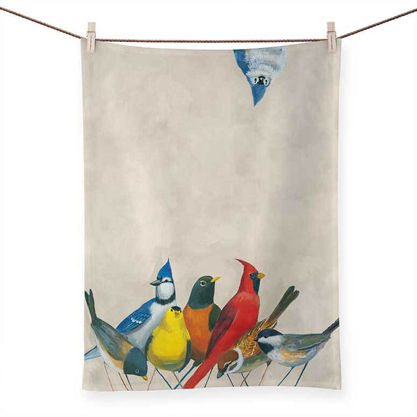 Songbird Tea Towel