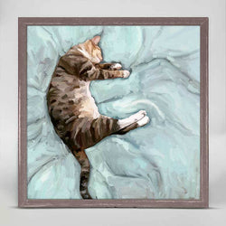 Relaxed Cat Mini Canvas