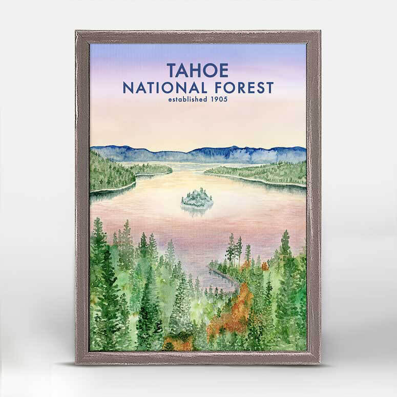 Tahoe National Forest Mini Canvas
