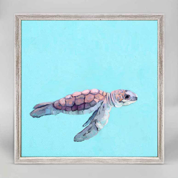 Baby Turtle Mini Canvas