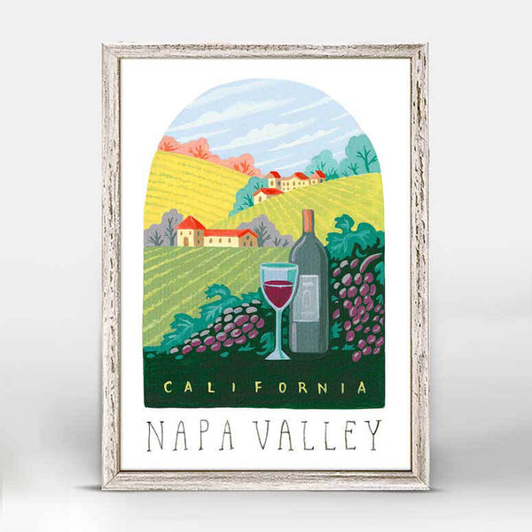 Napa Valley Mini Canvas