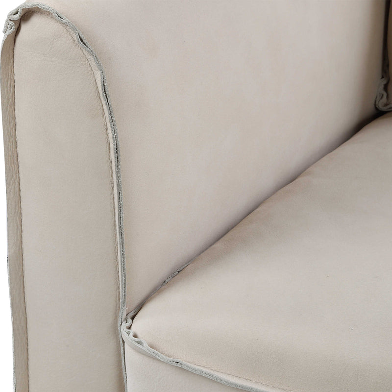 Beaufort Leather Accent Chair