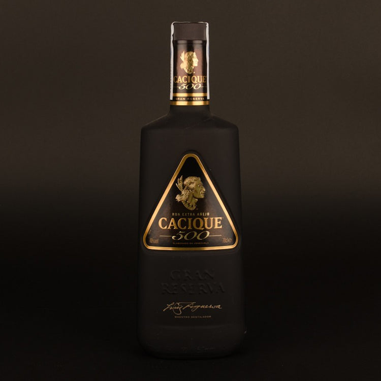 Cacique 500 Rum New Bottle By Johann Boscán • Venezuela