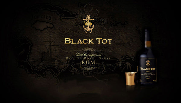 Black Tot Rum • Buy old rum Black Tot • BVI
