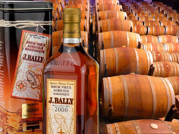 J.Bally Rum • Buy old rum, white rum
