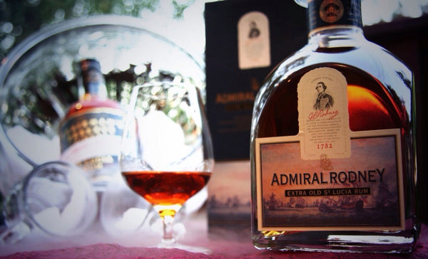 Admiral Rodney Old Rum • St. Lucia