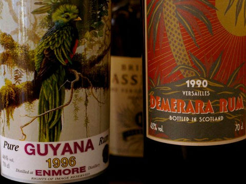 Guyana • Buy old rum, white rum