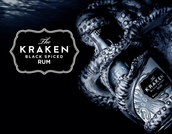 The-Kraken-rum • Buy black rum, spiced rum