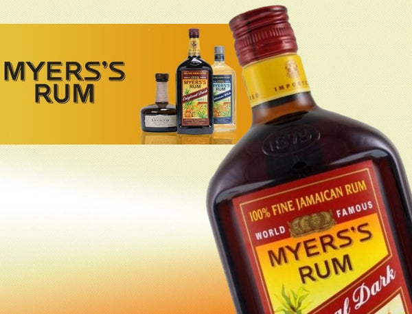 Myers's Rum • Buy old rum, white rum