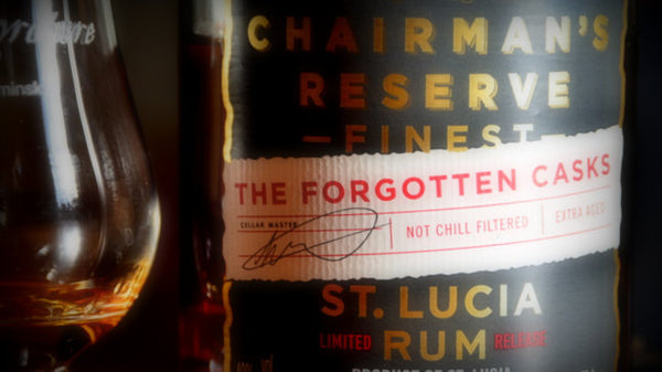 Chairman's Reserve Rum • Buy old rum, white rum • St. Lucia