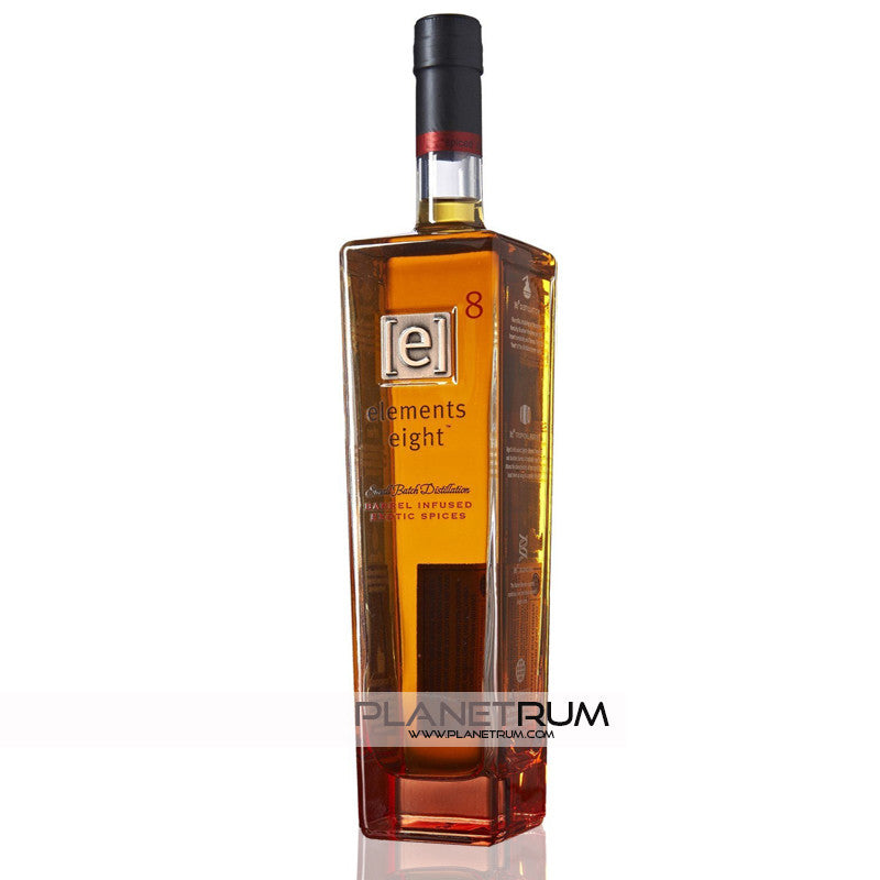 Elements Eight 'Barrel Infused' Spiced Rum, Spiced Rum, Elements 8 - Planetrum
