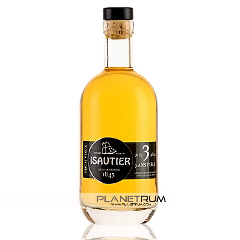 Isautier 3 Years Aged Rum, Aged Rum, Isautier - Planetrum