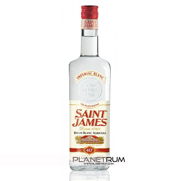 Saint James Imperial Blanc 40°, Aged Rum, Saint James - Planetrum