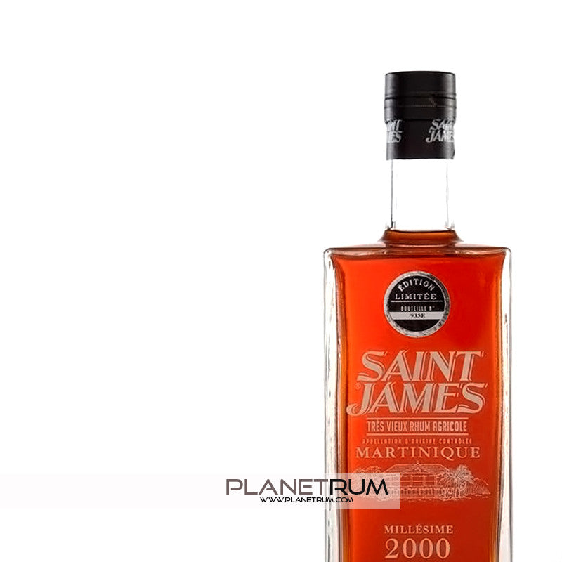 Saint James Millésime 2000, Aged Rum, Saint James - Planetrum