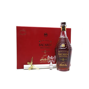 Bacardi 8 Years Old Millennium Baccarat Crystal, Aged Rum, Bacardi - Planetrum