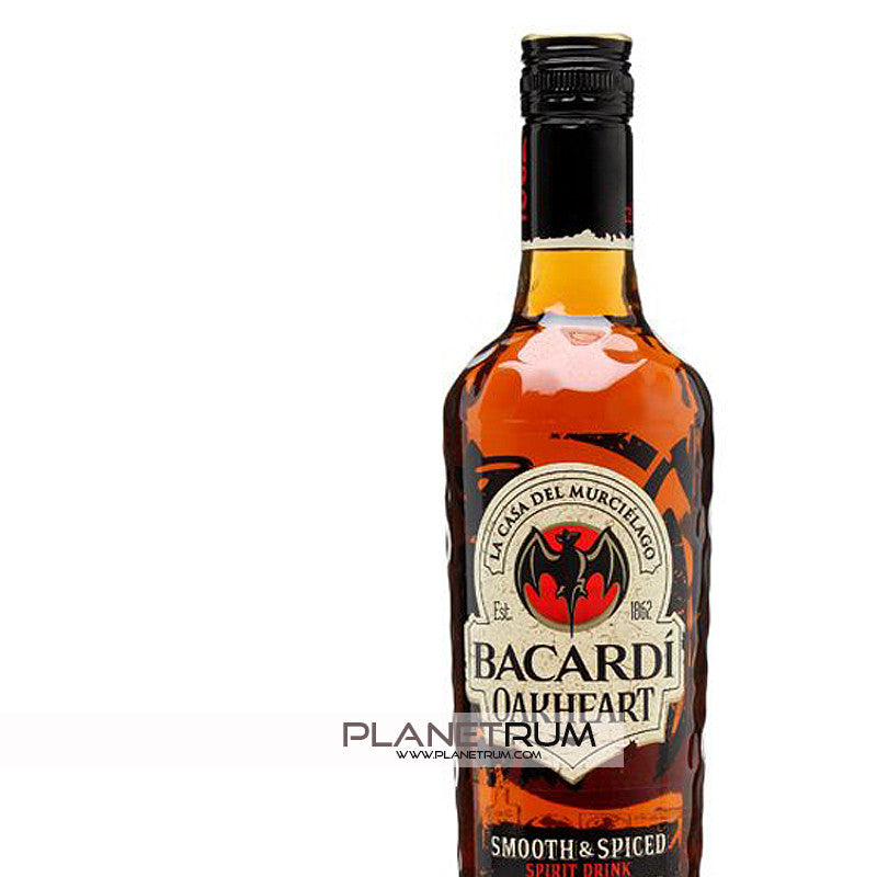Bacardi Oakheart Spiced Rum, Aged Rum, Bacardi - Planetrum