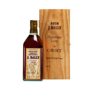 J.Bally 1929 Vintage Agricole Rum, Aged Rum, J.Bally - Planetrum