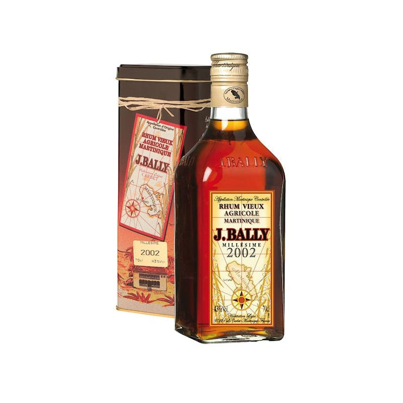 J.Bally 2002 Vintage Agricole Rum, Aged Rum, J.Bally - Planetrum