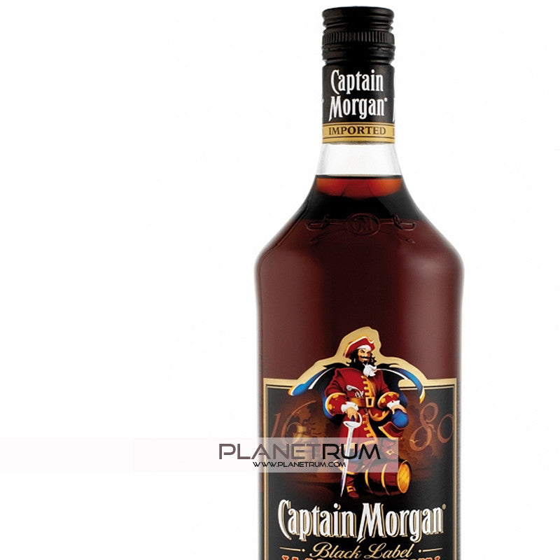 Captain Morgan Black Label, Dark Rum, Captain Morgan - Planetrum