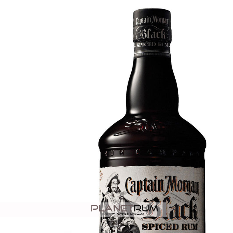 Captain Morgan Black Spiced Rum, Spiced Rum, Captain Morgan - Planetrum