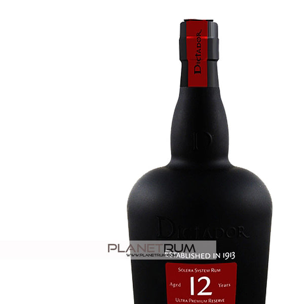 Dictador 12 Years, Aged Rum, Dictador - Planetrum