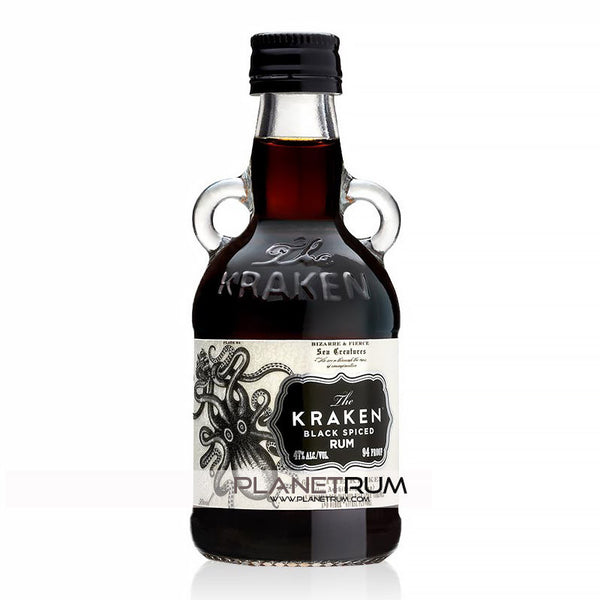 The kraken black spiced rum miniatures - Kraken rum pictures ...