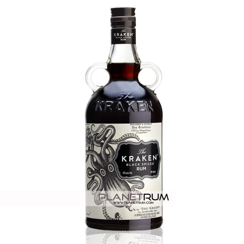 The Kraken Black Spiced Rum, Dark Rum, Kraken - Planetrum