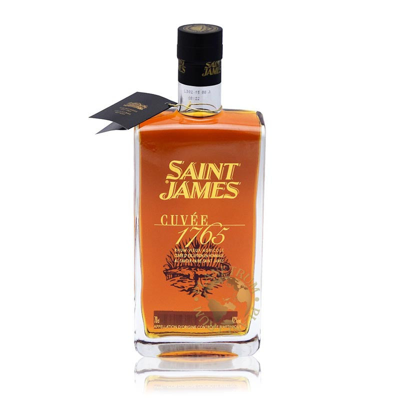 Saint James Cuvée 1765, Aged Rum, Saint James - Planetrum