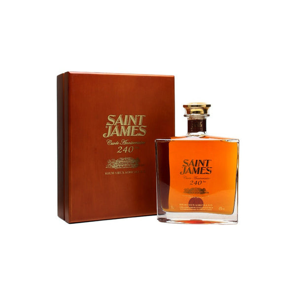 Saint James Cuvée 240th Anniversary, Aged Rum, Saint James - Planetrum