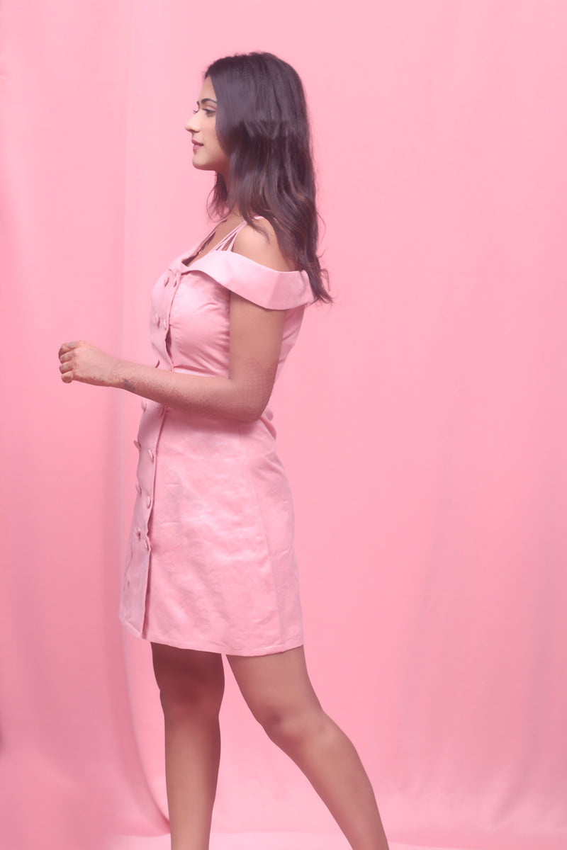 Rosy - Trench Dress