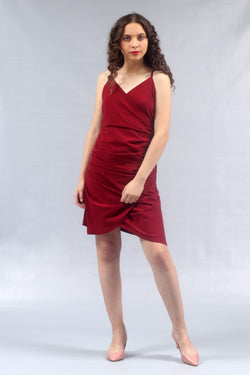 Gianna - Gathered Short Dress