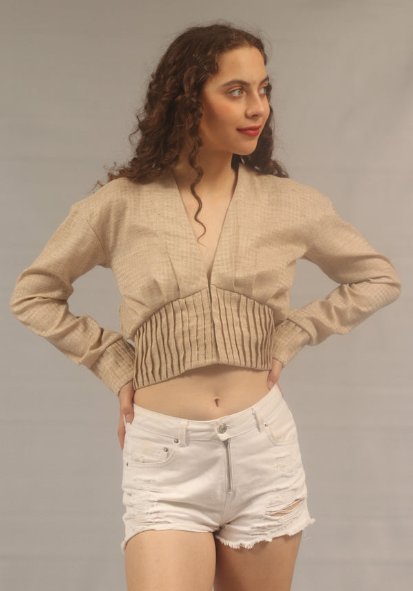 Vienna - Pleated Top