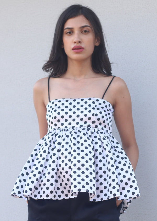 Kelly Polka Dot - Top
