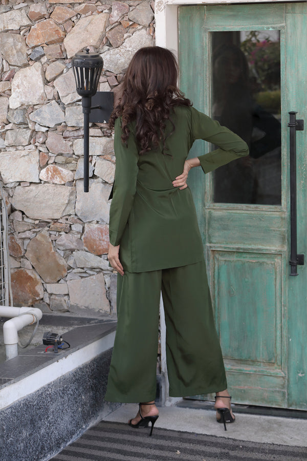 Rifle Green Co-ord Set