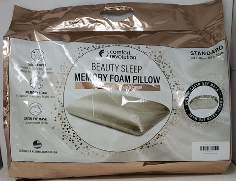 Comfort Revolution Memory Foam Pillow B2C1
