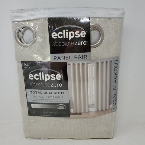 Eclipse Absolute Zero Blackout Curtains 2 Panels AP48